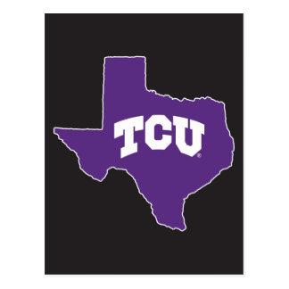 TCU Texas State Postcard