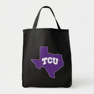 TCU Texas State Tote Bag