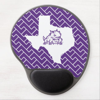 TCU Texas State with Horned Frog | Fret Gel Mouse Pad