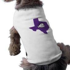 TCU Texas State with Horned Frog Shirt