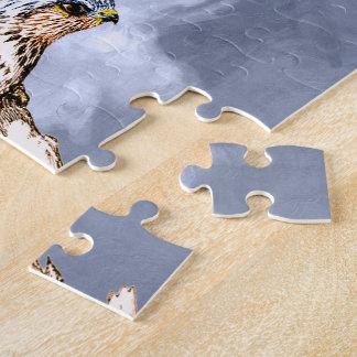 TCWC - American Kestrel Illustration Jigsaw Puzzle
