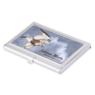 TCWC - American Kestrel Illustration Business Card Cases