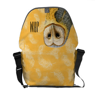 TCWC - Barn Owl Vintage Courier Bag