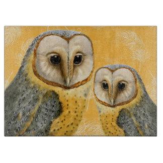 TCWC - Barn Owl Vintage Cutting Boards