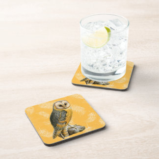 TCWC - Barn Owl Vintage for Drinks Beverage Coaster