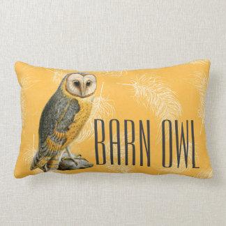 TCWC - Barn Owl Vintage Lumbar Pillow