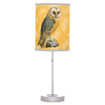 TCWC - Barn Owl Vintage Table Lamp