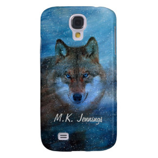 TCWC - Blue Wolf Christmas Galaxy S4 Covers