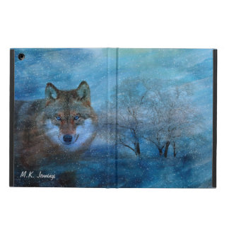 TCWC - Blue Wolf Christmas iPad Air Case