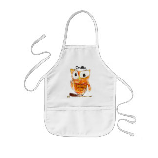 TCWC | Custom Designer Owl | Youth Art Project Kids' Apron