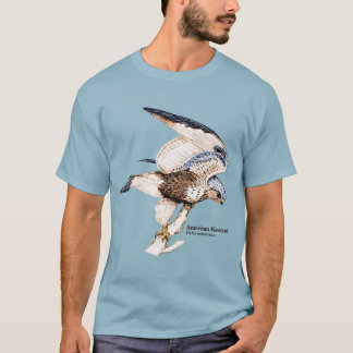 TCWC - Mens American Kestrel Illustration T-Shirt