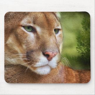 TCWC - Puma Mountain Lion Art Mouse Pad