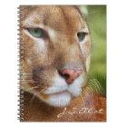 TCWC - Puma Mountain Lion Art Notebook
