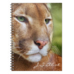 TCWC - Puma Mountain Lion Art Spiral Notebooks