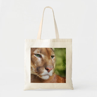 TCWC - Puma Mountain Lion Art Tote Bag