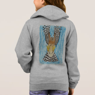 TCWC | Raptor in Flight | Youth Art Project Hoodie