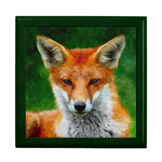 TCWC - Red Fox Watercolor Painting Gift Box