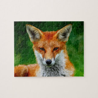 TCWC - Red Fox Watercolor Painting Puzzle