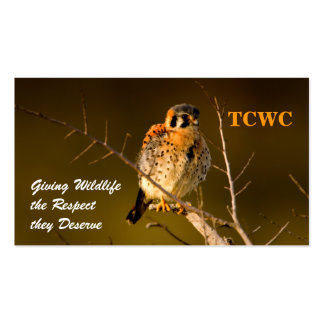 TCWC - Tarjeta de visita del voluntario del