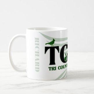 TCWC - Taza de encargo del verde el | del logotipo