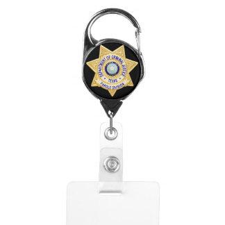 TDCJ Parole Division Badge Badge Holder