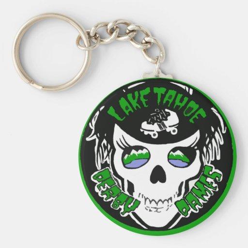 TDD Swag Basic Round Button Keychain