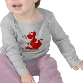 Tddler Tshirt - Baby Red Dragon