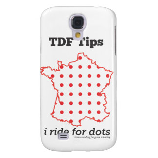 TDF Tips Ride for Dots Samsung S4 Case