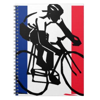 tdf vive le velo custom design notebook