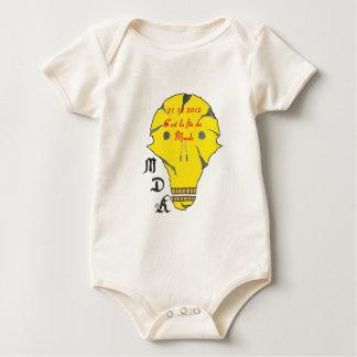TDM 21 12 2012 C EAST END OF MONDE.png Baby Bodysuit