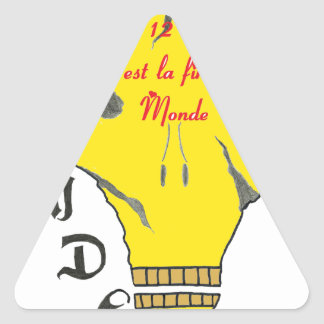 TDM 21 12 2012 C EAST END OF MONDE.png Triangle Sticker