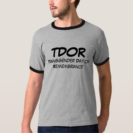 TDOR, Transgender Day of Remembrance T-Shirt