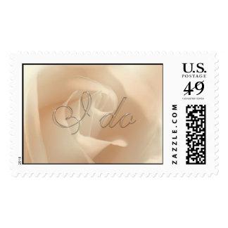 TDSwhite I Do Wedding Stamp