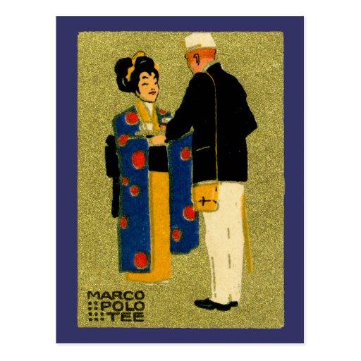 Té 1915 de Marco Polo Postal