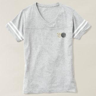 Te amo a la camisa atlética de la luna