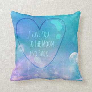 Te amo a la luna y a la almohada de encargo