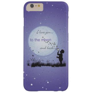 Te amo a las burbujas que soplan de la luna y de funda de iPhone 6 plus barely there