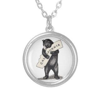 Te amo abrazo de oso de California Colgante Redondo