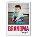 ¡Te amo, abuela! Felicitaciones