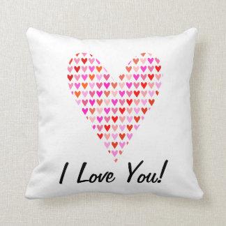 Te amo almohada