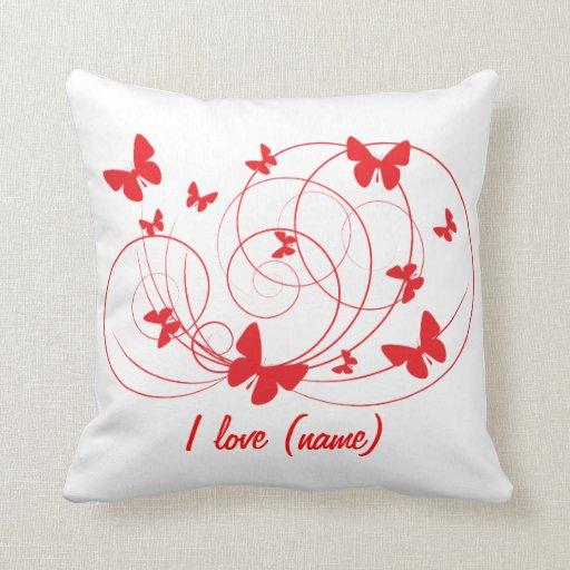 Te amo almohada costomizable