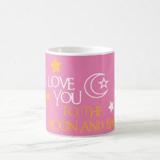 Te amo amigo único del regalo de la LUNA Y de la Taza De Café