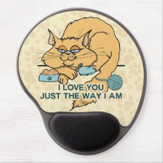 Te amo apenas la manera soy gato alfombrilla de raton con gel