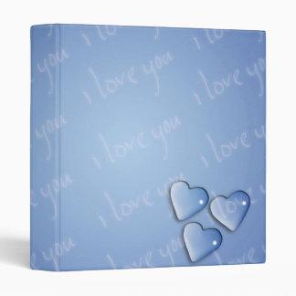 """Te amo azul carpeta 1"""""""