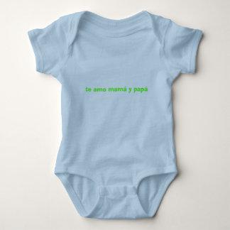 te amo.... baby bodysuit