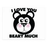 Te amo Beary mucho Postales