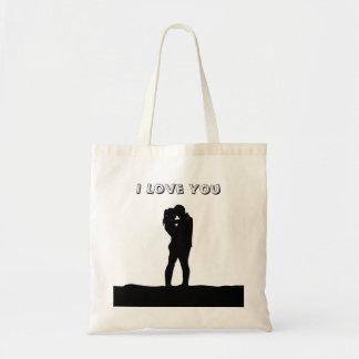 Te amo bolsa tela barata