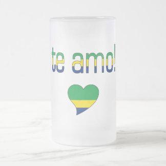 Te Amo! Brazil Flag Colors Coffee Mug