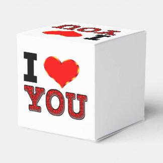 Te amo caja de regalo con el corazón cajas para regalos