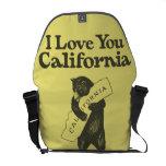 Te amo California Bolsa Messenger